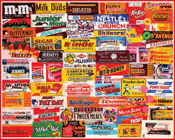 candy wrappers 1 000pc jigsaw puzzle dots reeses m mike u0026 ike