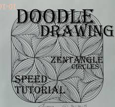 draw complex zentangle paradox design for beginners doodle art