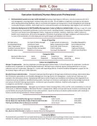 sample cover letter human resources hr assistant