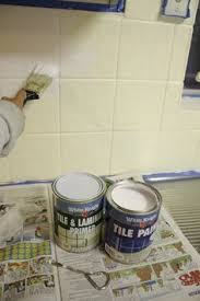 how to paint tile backsplash in kitchen how i transformed my kitchen with paint painted tiles and