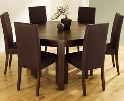 dark brown round kitchen table round kitchen table sets for 6 home life pinterest kitchen