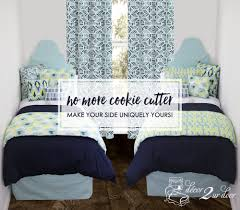 how to coordinate your dorm bedding with your roommate decor 2