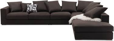 canapé d angle 9 places canapé d angle modulable contemporain en cuir cenova boconcept