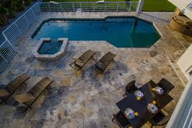 Backyard Pool And Basketball Court Contemporary Home Boasts Incredible Outdoor Spaces Lindross