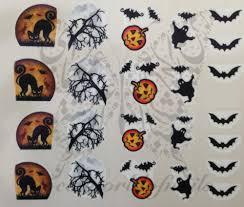 Halloween Nail Art Bats by Nail Art Water Decals Halloween