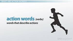 what are action words definition u0026 examples video u0026 lesson