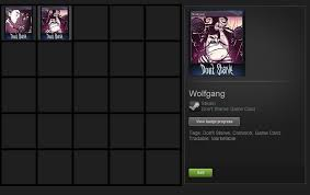 just got beta access to the steam trading cards and already