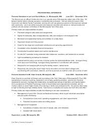 Sample Of Resume For Administrative Assistant by Personal Assistant Resume Executive Assistant Resume Samples