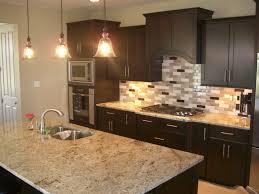 install kitchen backsplash kitchen cool kitchen backsplash glass tile dark cabinets