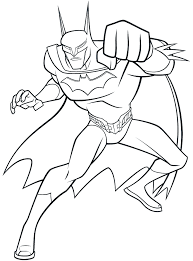 batman hit force batman coloring pages