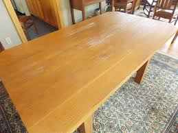 How To Refinish Teak Dining Table Restoring Our Dining Room Table Minwax Blog