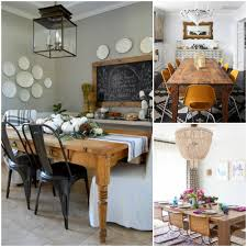 Farm Style Dining Room Sets - remodelaholic one dining room three different ways