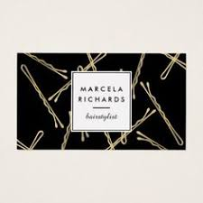 Salon Business Card Ideas Instant Salon Or Hair Stylist Branding A Fun And Eye Catching