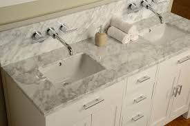 wall mount sink faucet bathroom vanity with sink and faucet 63 hutton double console pearl