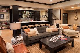 Cool Basement Designs Designs Ideas Cool Basement Bar With Modern Bar Table And Red