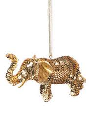 Outdoor Christmas Decorations Elephant by Christmas Ornaments U0026 Tree Decorations Belk
