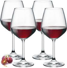 amazon com paksh novelty italian red wine glasses 18 ounce