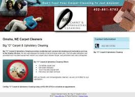 Upholstery Omaha Ne Big O Carpet U0026 Upholstery Cleaning Reviews And Business Profile