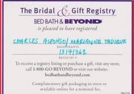 bridal registry checklist printable bed bath wedding registry 157493 printable wedding registry card