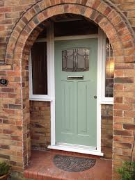 1930s Home Decorating Ideas by House And Surroundings Green Front Door Design Ideas Decor Image
