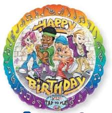 singing birthday balloons 28 singing rappers delight happy birthday balloon china wholesale