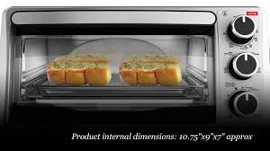 Toaster Oven Dimensions Black Decker To1303sb 4 Slice Toaster Oven Stainless Steel Black