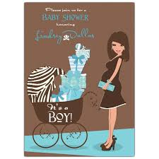 baby shower invitations for boy hot blue brown baby shower invitations paperstyle