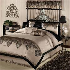 King Comforter Sets Clearance Bedroom Wonderful Ivory Comforter Set Black And Tan Comforter