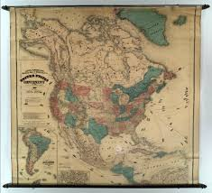 Map Of Nirth America by Map Of North America David Rumsey Historical Map Collection