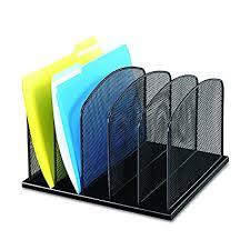 safco onyx mesh desk organizer amazon com safco products 3256bl onyx mesh desktop organizer with