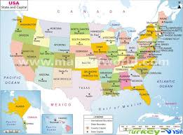 a usa map with states and capitals map of usa capitals