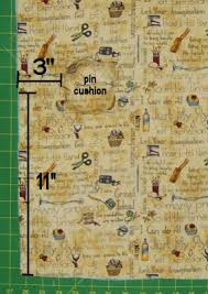 Armchair Pincushion Free Pattern And Directions To Sew An Armchair Sewing Organizer