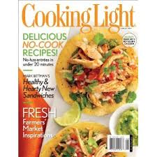 cooking light subscription status international subscription of cooking light magazine