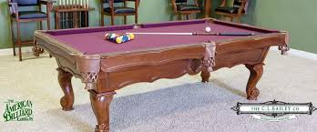 Pool Table Rails Replacement The American Billiard Company