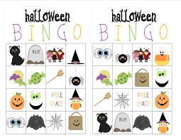 Halloween Bingo Cards Printable For Kids Recipes From Stephanie Halloween Bingo