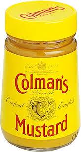 coleman s mustard colman s prepared mustard 6 oz 170 g low price