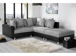 canap noir et gris d angle modulable loft noir gris