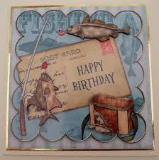 fishing clipart happy birthday pencil and in color fishing