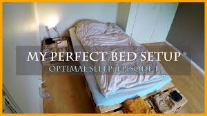 my bedroom setup optimal sleep episode one youtube