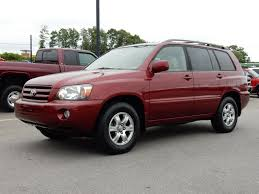 toyota highlander sales 2005 toyota highlander for sale in asheville