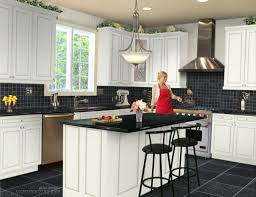 black and white kitchen ideas create a modern look in the simplest