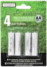 rechargeable aa batteries for solar lights moonrays 97125 rechargeable aa batteries for solar powered lights 4