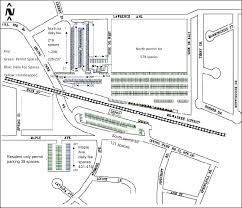 Metra Rail Map Fee Parking Roselle Il Official Website