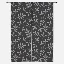 Leaf Design Curtains Leaf Pattern Window Curtains U0026 Drapes Leaf Pattern Curtains For