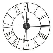 horloge murale 60cm de diamà tre noir myron dà coration murale