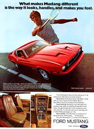 ford mustang ad 1973 ford mustang mach 1 ad cars today