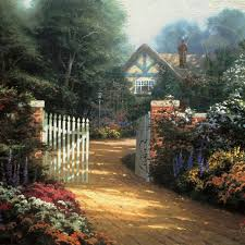 kinkade official site of the painter of light