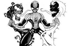 symbiote spiderman inkletter deviantart