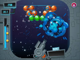 phaser news bubble burst fire the matching colored bubbles