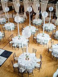 wedding reception table centerpieces 2017 wedding trend balloon decor equally wed lgbtq weddings